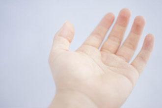 指のむくみ
