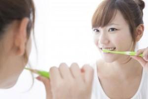 丁寧な歯磨き