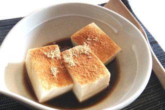 豆腐でスイーツ