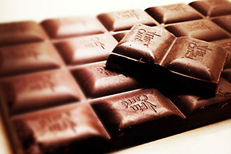 チョコ食べ過ぎ