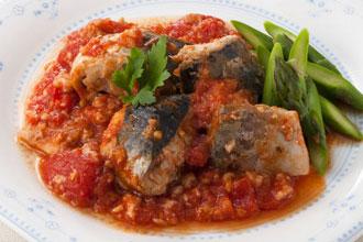 鯖トマト煮