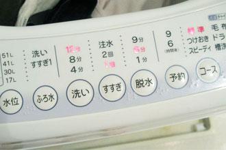 洗濯機機能
