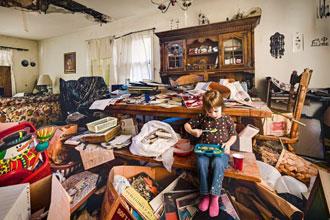 部屋が汚い