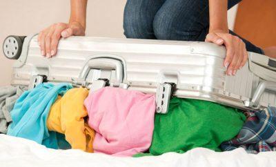 スーツケース収納法