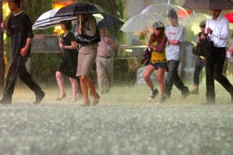 ゲリラ豪雨とは